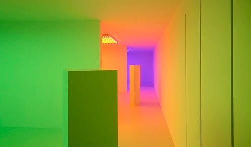 Colour Wall Projection