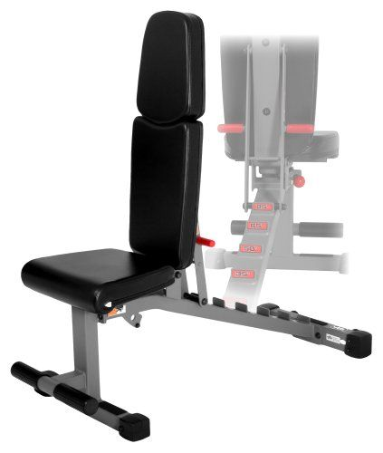 Save $119.74 on XMark Fitness Commercial Rated Adjustable Dumbbell Weight Bench; only $269.26 + Free Shipping
