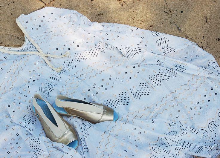 Caliber by CLOUD footwear #metallic #sandals #comfy #cloud