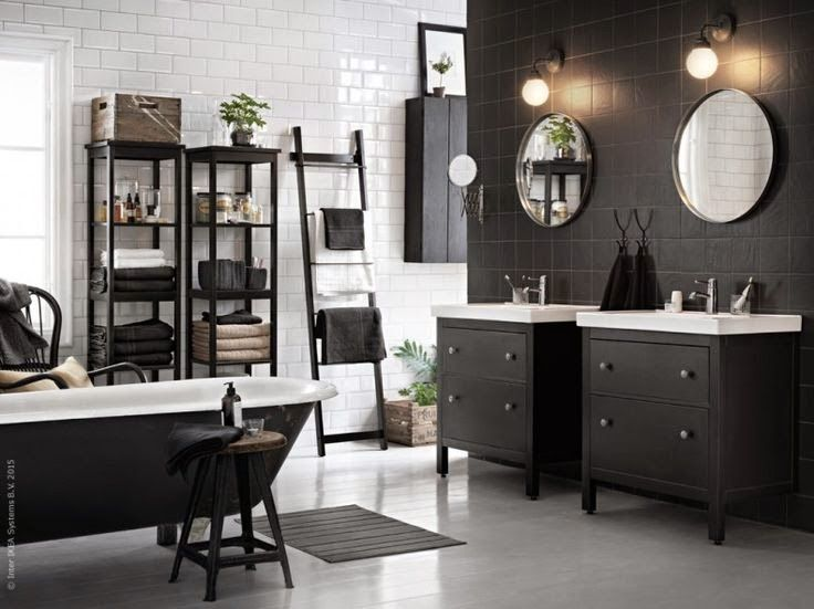New Dreamy Ikea Bathroom Daily Dream Decor: Best 25+ Black White Bathrooms Ideas On Pinterest