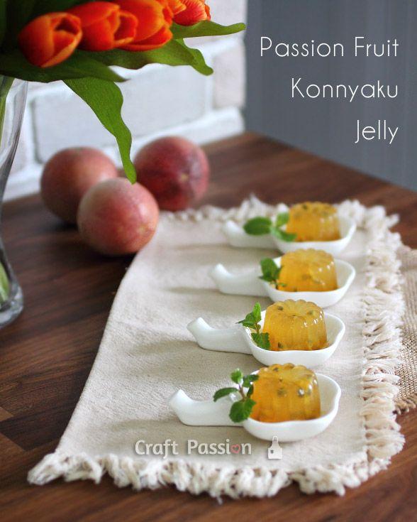 Passion Fruit Konnyaku Jelly Recipe