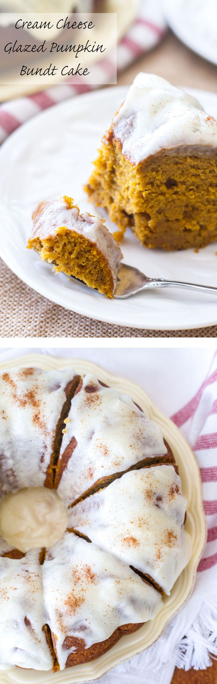 This classic dessert is full of pumpkin flavor, cinnamon spice, and rich cream cheese! It is absolutely Heavenly.