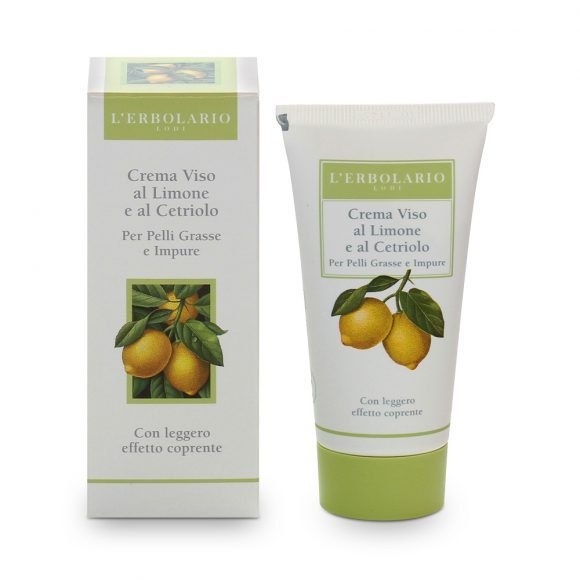 Lemon and Cucumber Face Cream
