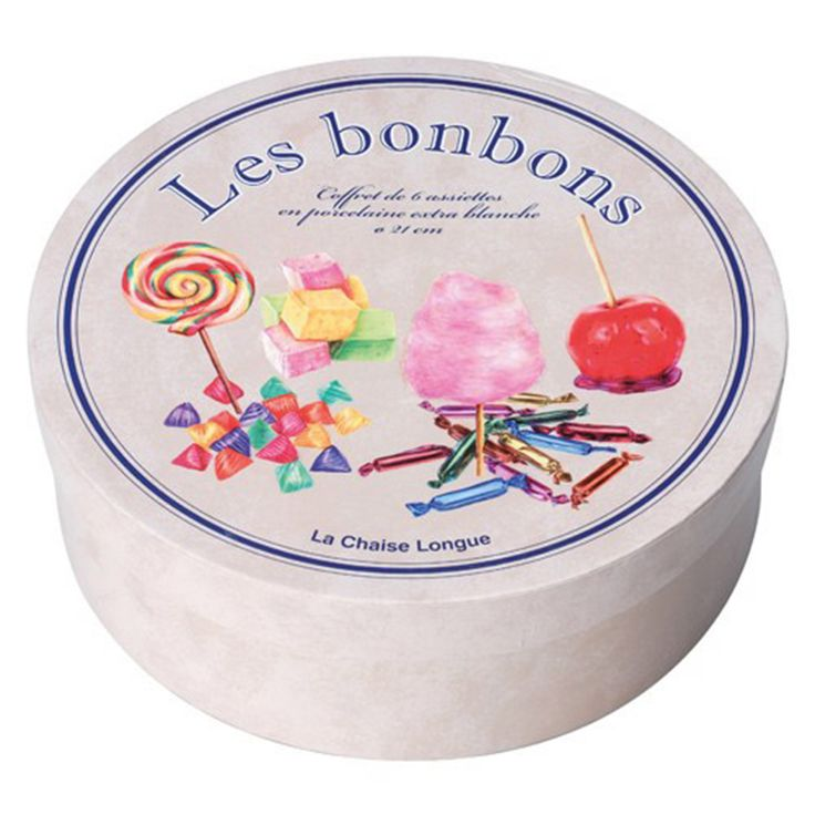 Les Bonbons set of 6 plates arrived at Oikos!