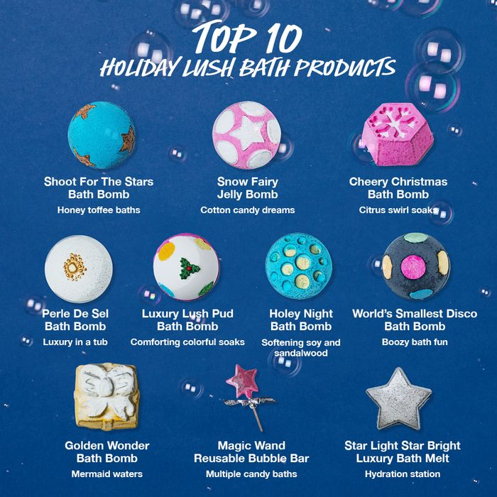 Looking For Our Top 10 Bath Products These Favorite Bath Bombs And Bubble Baths Are Sure To Please This S Romantic Bubble Bath Bath Bombs Christmas Bath Bombs