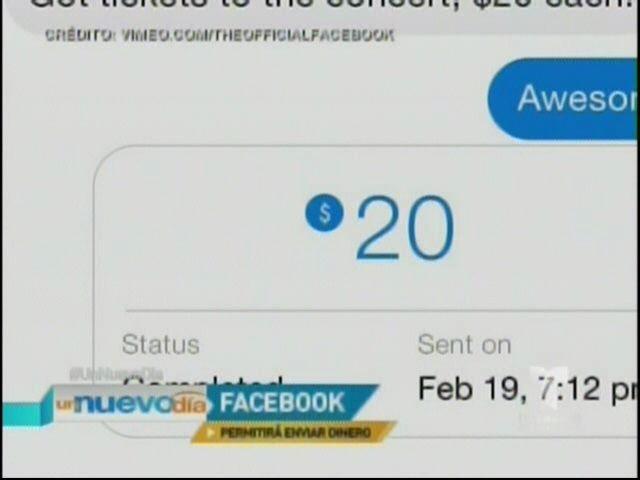 Facebook Permitirá Enviar Dinero De Un Usuario A Otro #Video