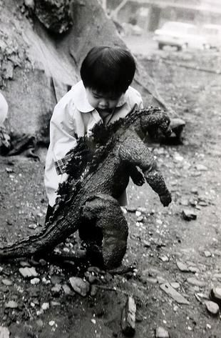 The first Gojira prop toy!