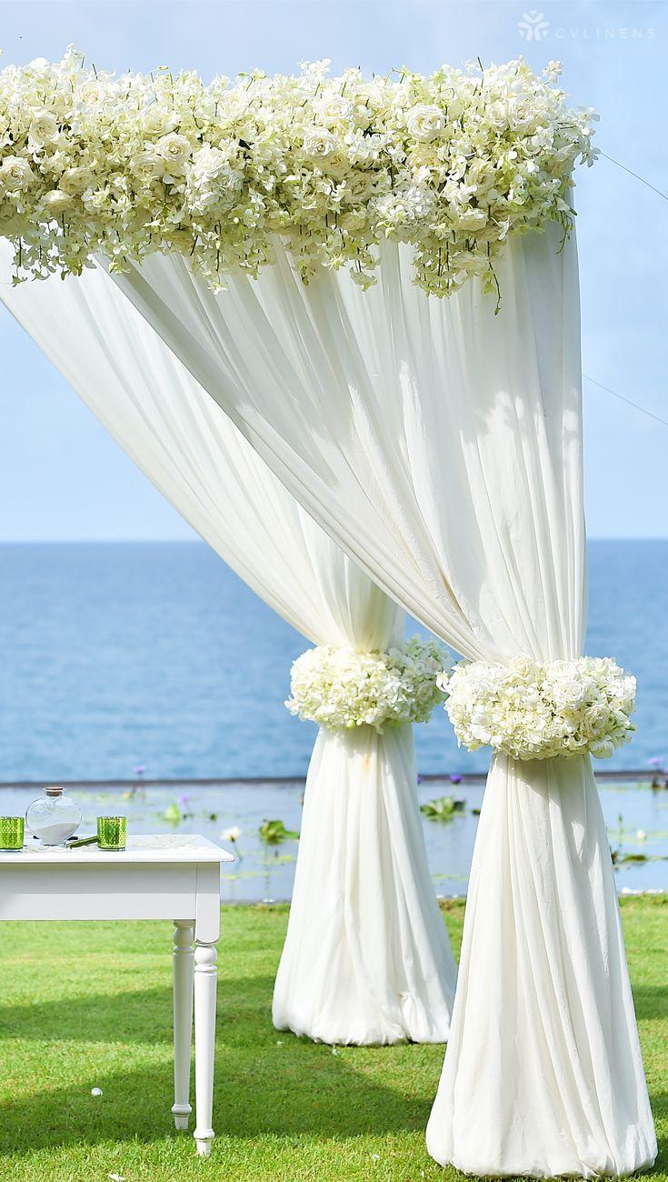 Simple Wedding Canopy Backdrop Design Outdoor Wedding Canopy