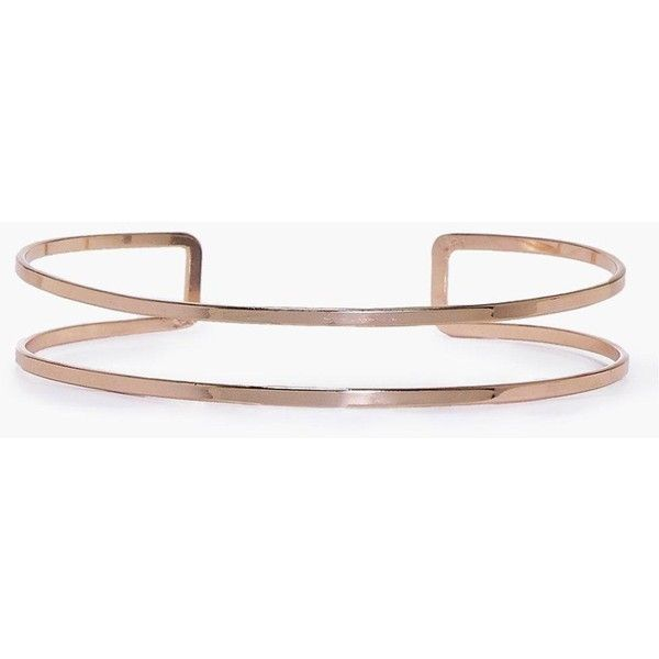 Boohoo Lauren Double Thin Layer Metal Choker (€8,90) ❤ liked on Polyvore featuring jewelry, necklaces, rose gold, stacked necklaces, multi layer necklace, thin necklace, metal choker necklace and metal jewelry