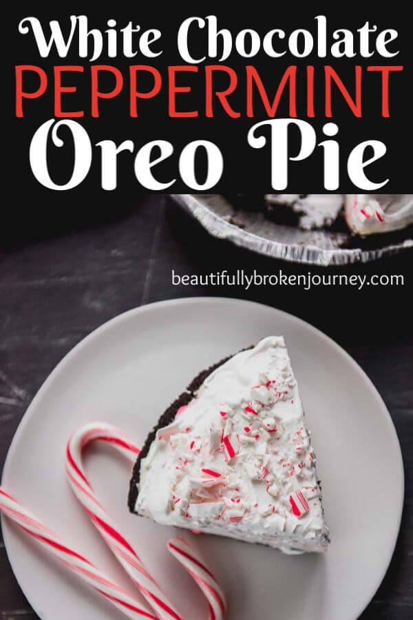 Diese Oreo-Pfefferminz-Oreo-Torte aus weißer Schokolade ist das perfekte … – Dessert