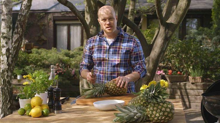Grilovaný ananas v třtinovém cukru