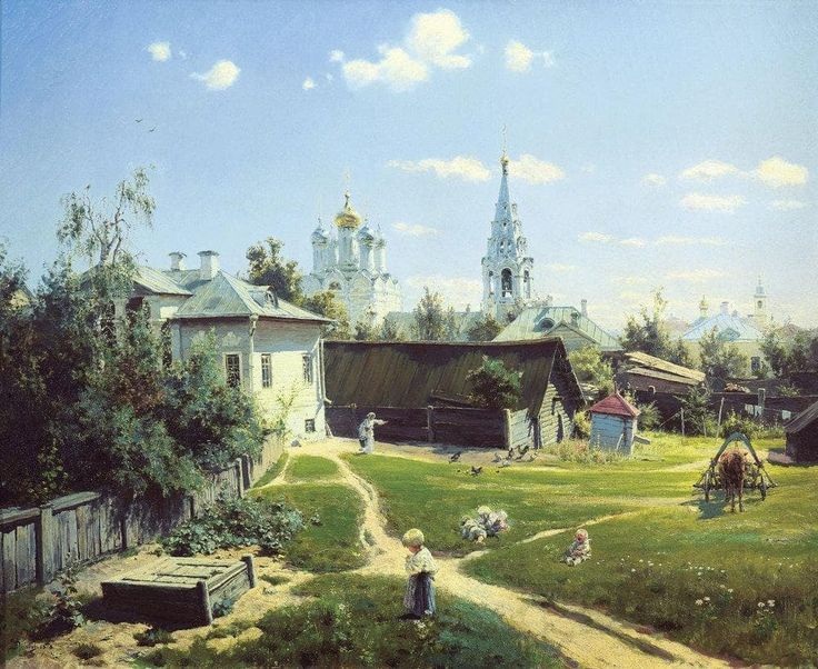 pintura Vasiliya Polenova - 02