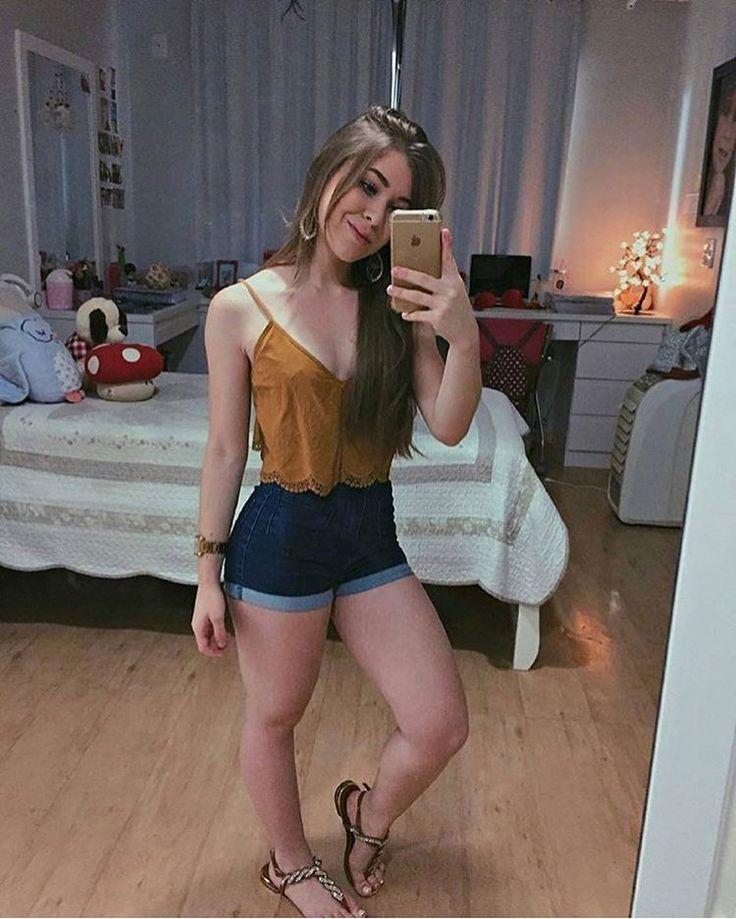 "Short Jeans - Moda Para Meninas (@modaparameninas) on Instagram: ""despojado ✨ #modaparameninas"""