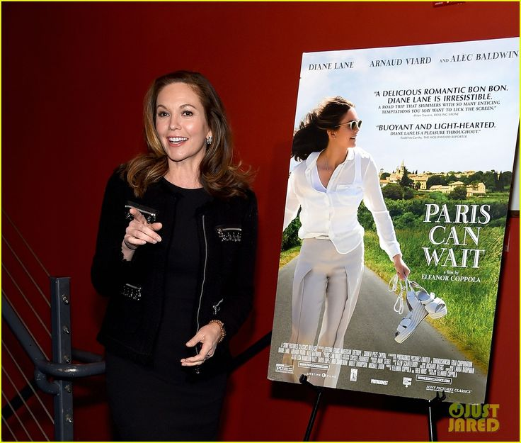 Diane Lane Premieres Her New Film 'Paris Can Wait' in NYC