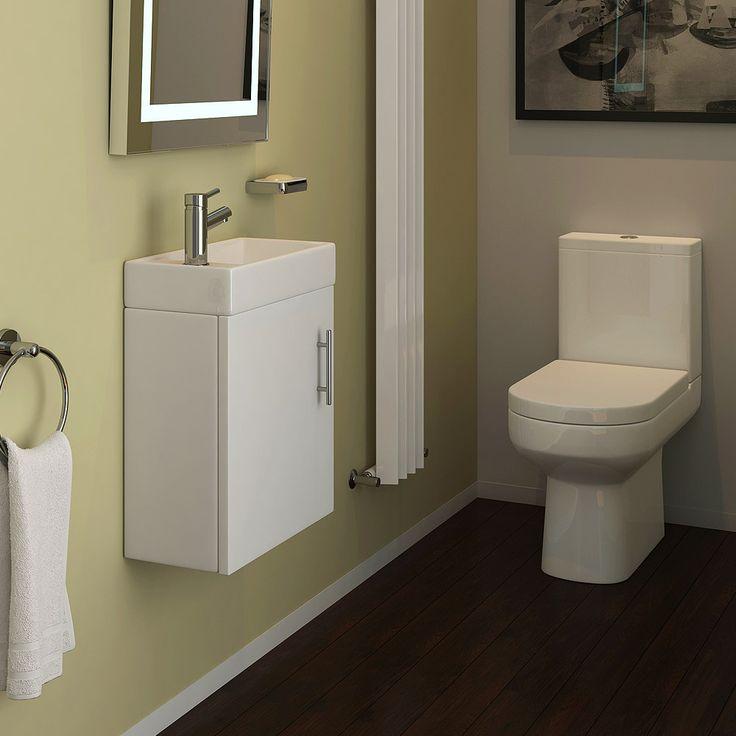 Minimalist Cloakroom Suite. Cloakroom SuitesCloakroom IdeasBathroom ... Part 87