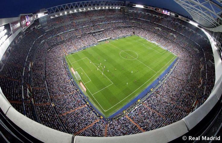 Amazing pic of Santiago Bernabeu Stadium. www.gattus.com #tourism in Madrid