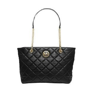 MICHAEL Michael Kors Fulton Quilted Large East/West Tote Bag | Overstock.com Shopping - The Best Deals on Tote Bags