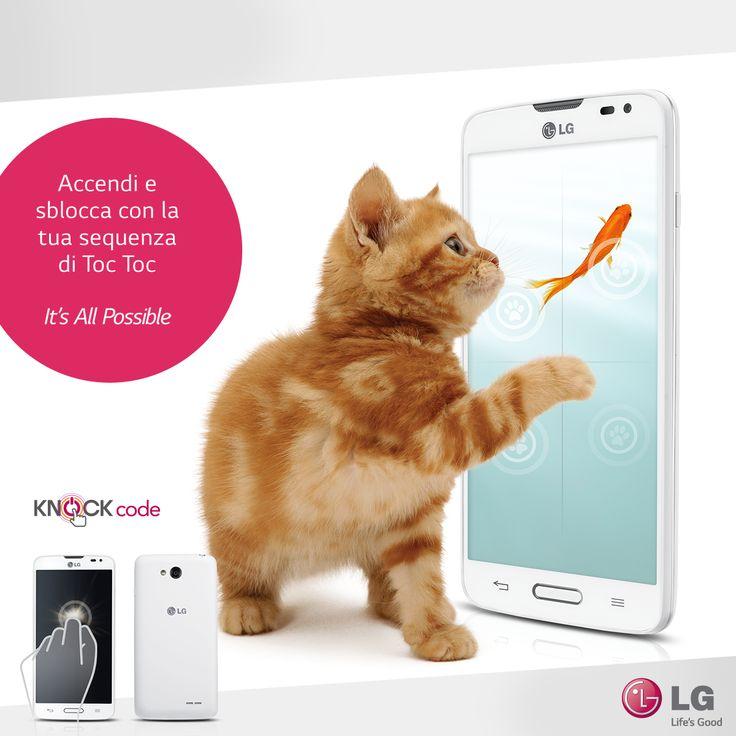 Sottile, elegante e rifinito: il nuovo #LG L70 stupirà tutti i vostri amici con la nuovissima funzione #KnockCode! http://bit.ly/LG_L70_