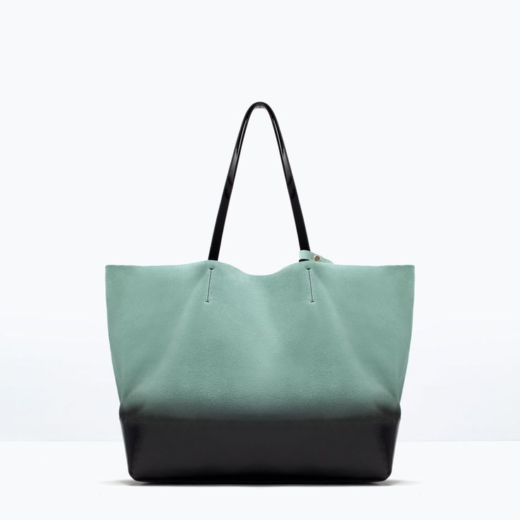 OMBRE LEATHER SHOPPER BAG-Handbags-Woman-SHOES & BAGS | ZARA United States