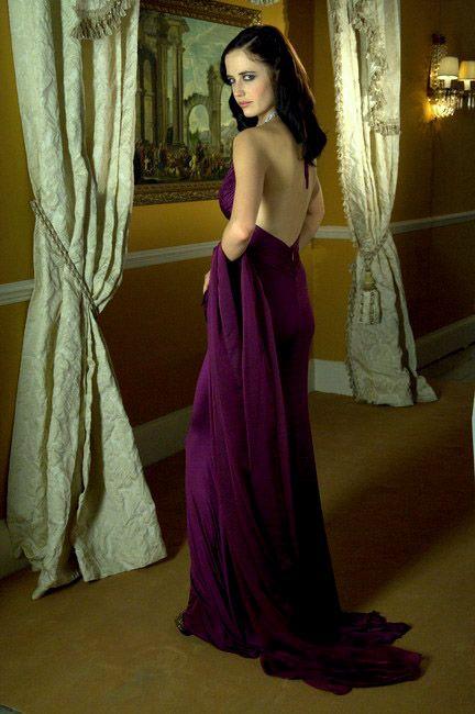 Eva Green as Vesper Lynd in Casino Royale, James Bond's first love.