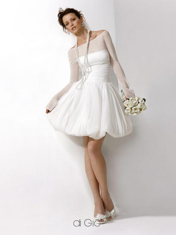 790 best Short Wedding Dresses images on Pinterest Wedding