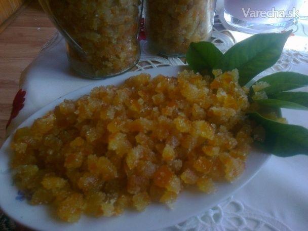 Kandizovaná pomarančová kôra (fotorecept)
