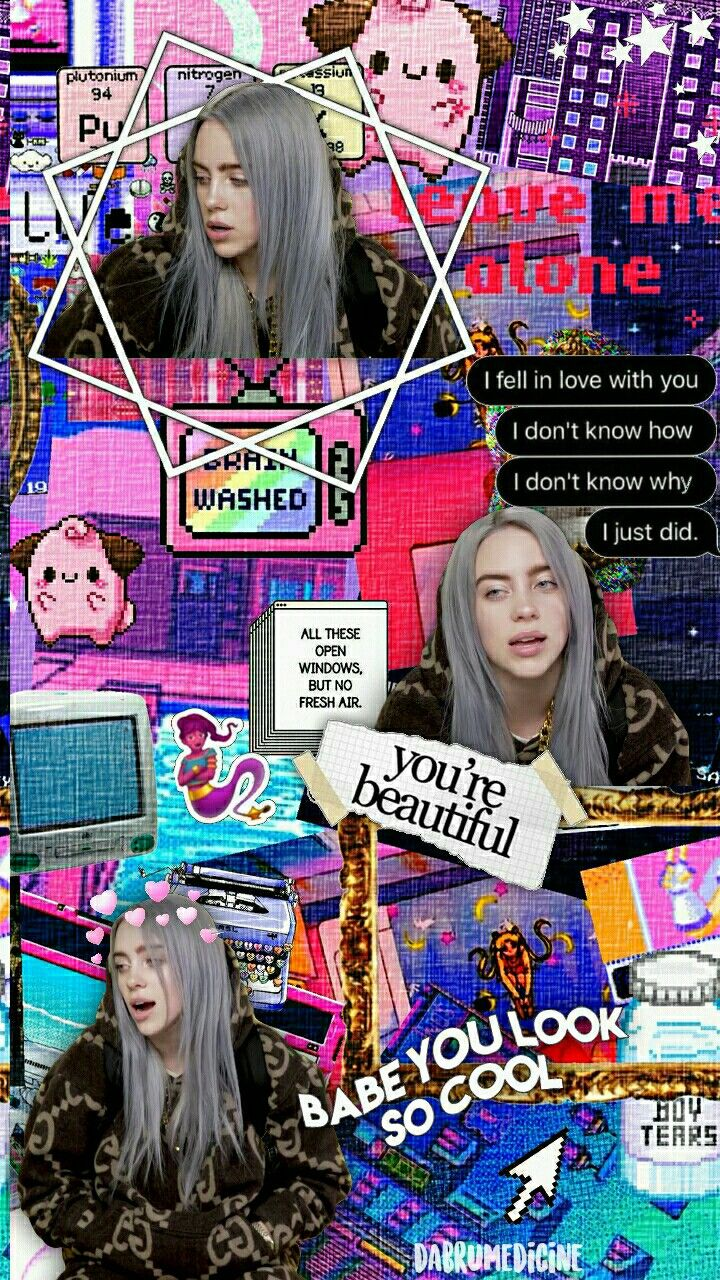 Billie Eilish Background Made By Me Billie Billie Eilish