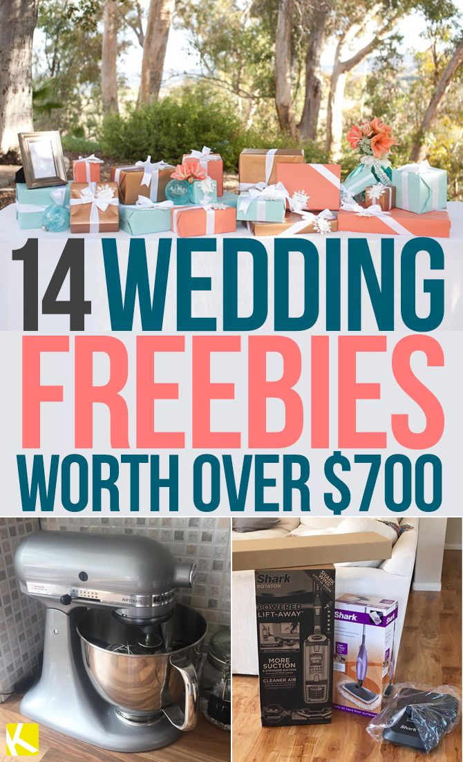14 Wedding Freebies Worth Over $700