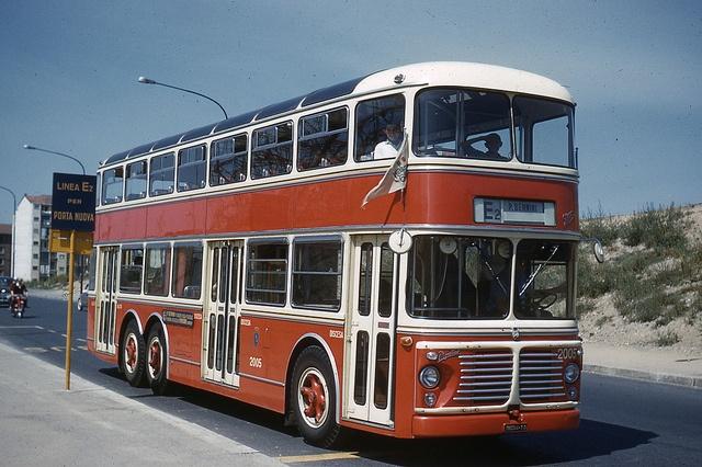 "Turin, autobus spécial desservant l'Exposition ""Italia '61"" | Flickr - Photo Sharing!"