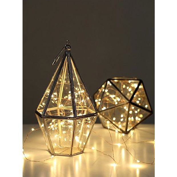lighting fairy lights diamond glass lanterns www