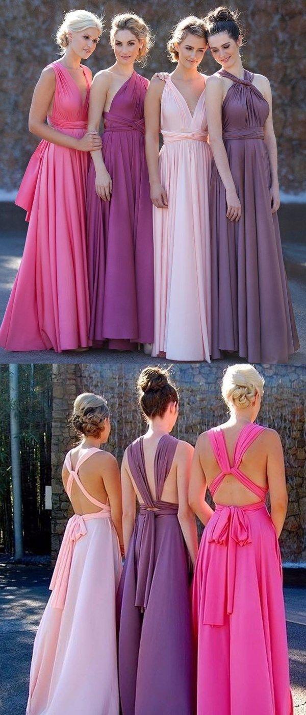 159 mejores imágenes de Bridesmaid and Flower Girl Dresses en Pinterest
