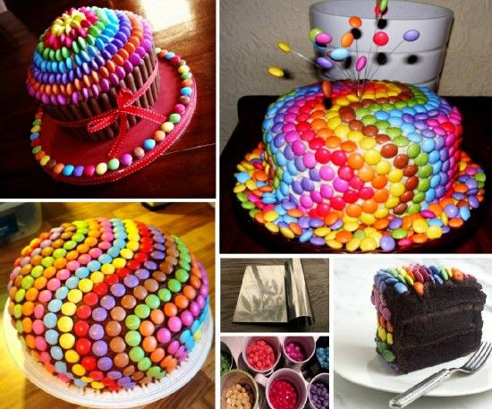 Rainbow M&M's Cake Is Super Easy To Make | The WHOot