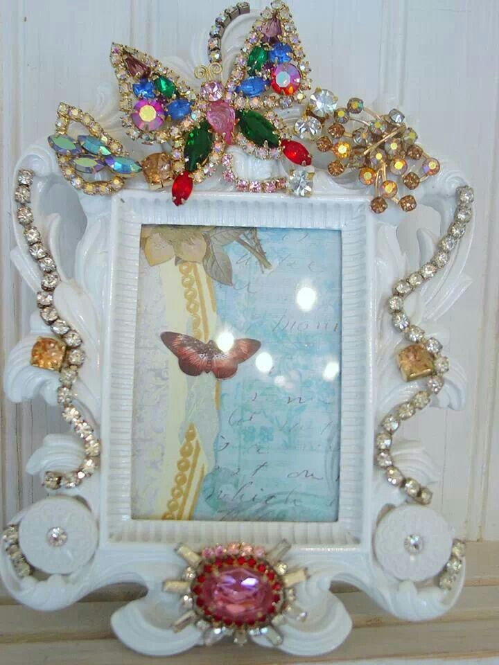 1000 Images About Jewelled Frames And Other Things On