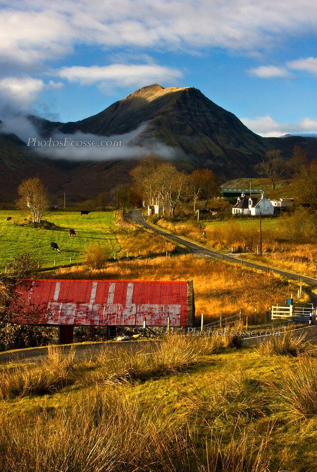Torrin Village, Autumn, Isle of Skye