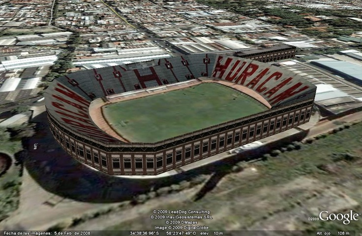 Estadio Tomás Adolfo Ducó (Huracan) Buenos Aires, Argentina