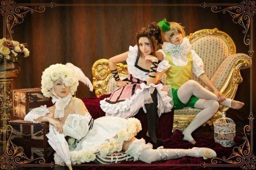 book of circus cosplay   Doll , Wendy, Peter   Kuroshitsuji: Book of Circus