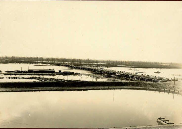 Most, Sandomierz - 1914 rok, stare zdjęcia
