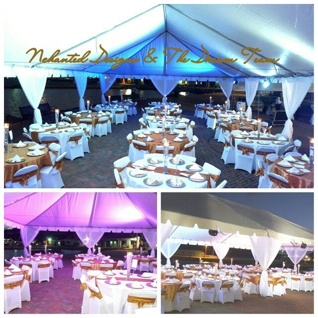 Miami Nights Theme Christmas Party