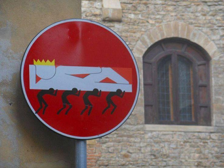 Street Art by Clet www.streetartutopia.com