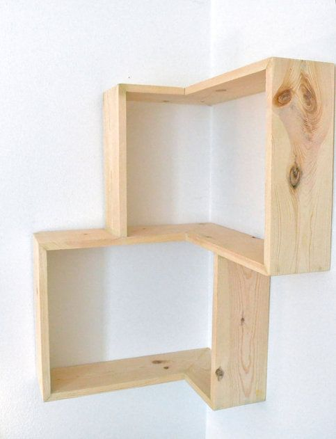 "This would be so easy to make, probably gonna add another shelf in the middle of the two and make into a book shelf. 30"" X 20"" X 5.5"""