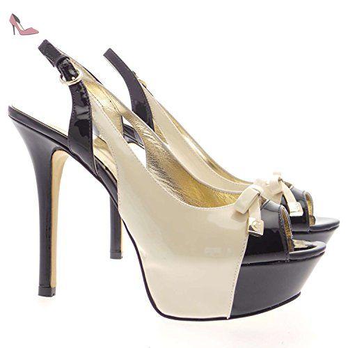 Guess FL1PSAPAT05 Sandales Femme Multicolor - Chaussures Sandale Femme