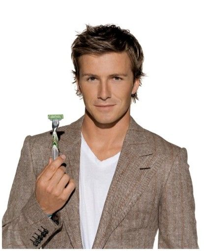 david beckham long hair | David Beckham Clean Shaved | PHOTO-BUGS.com