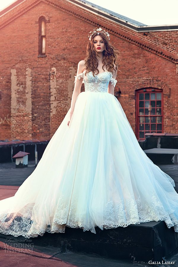 galia lahav spring 2016 bridal dresses off the shoulder sweetheart neckline corset emebroidered bodice wedding ball gown dres cinderella