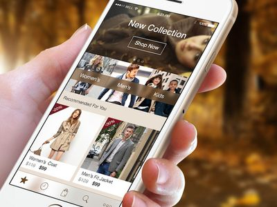 Fashion App - This is a design for E-shop app and target was created theme for Autumn Collection. #M-Commerce