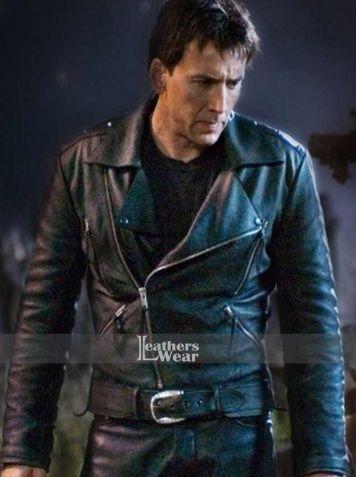 Ghost Rider Nicolas Cage Biker Jacket