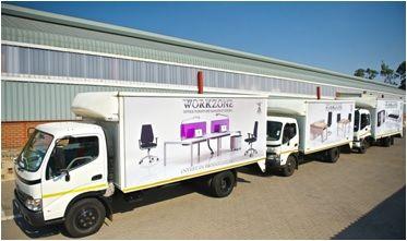 Our fleet of trucks - Logistics on time