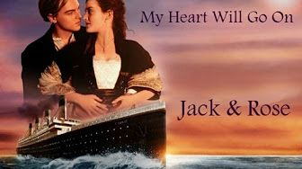 (1) Celine Dion - My Heart Will Go On (TITANIC) Lyrics on screen!! - YouTube