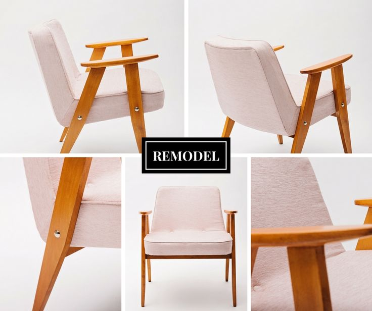 pink armchair 633 model