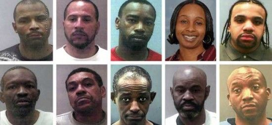 """TERRORIST GANG WHO THREATENED TO SHOOT ON DUTY COPS: Here's a little background on the """"Black Guerilla Family"""" One of their associated groups is…wait for it…the Weather Underground. (YOU KNOW--0BAMA'S BESTIE!!!!!)"""