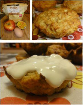 Aliciini muffini s piščančjo pašteto in jabolkom